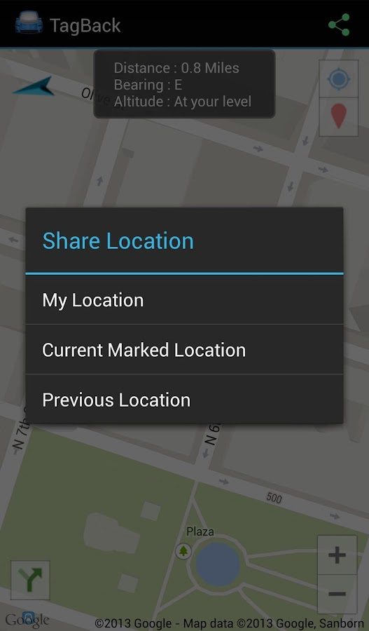 TagBack Locator- screenshot
