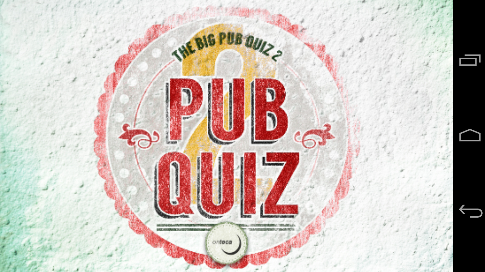 The Big Pub Quiz- screenshot
