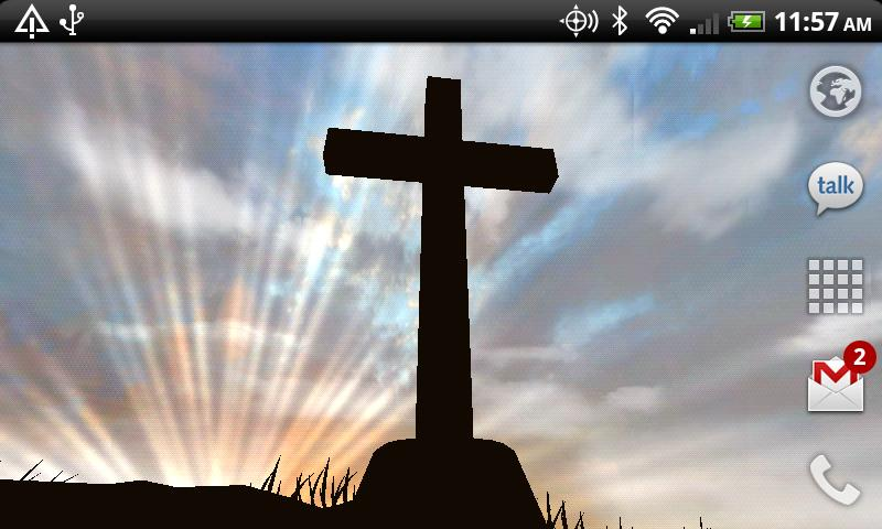 3D Cross Live Wallpaper - screenshot