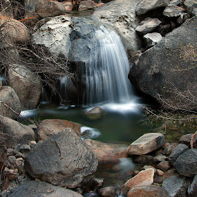 Yosemite Cascades by Ken Miller - Landscapes Waterscapes ( national park, waterscape, yosemite, california, waterfall, spring,  )