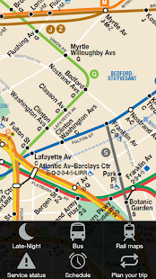 New York Subway & Bus maps- screenshot thumbnail