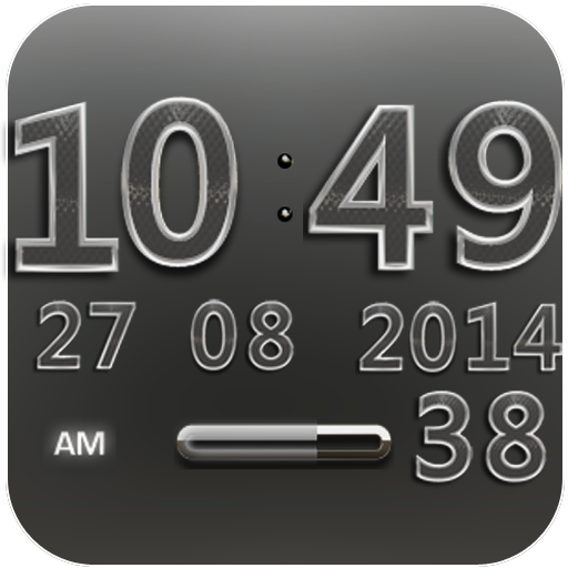 Digi Clock Widget Platinum