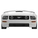 Ford Mustang GT battery widget logo