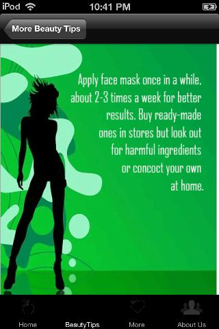 Natural Beauty Tips - screenshot