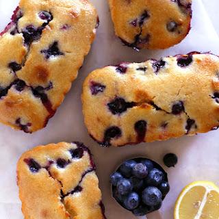 Blueberry-Lemon Loaf Cakes