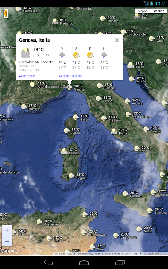 Meteo Italia - screenshot