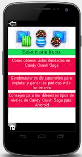 Candy crush trucos cheats - screenshot thumbnail