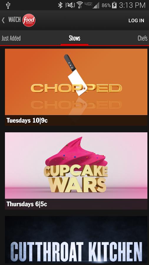 Watch Food Network - screenshot