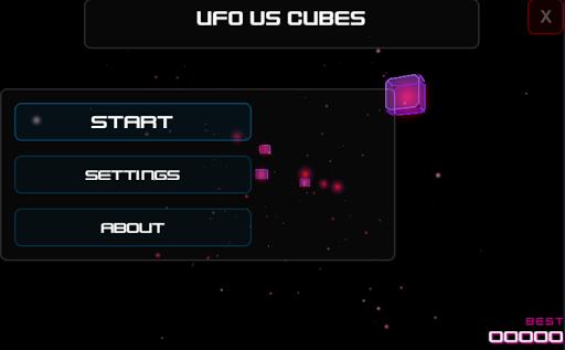Ufo Vs Cubes