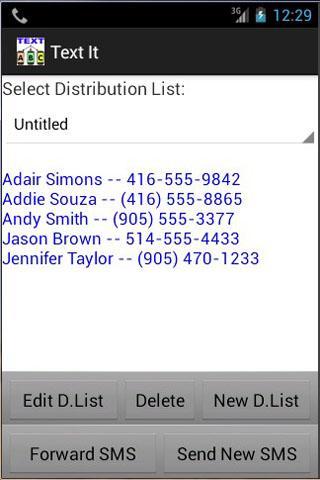 玩免費通訊APP|下載Distribution List Creator Free app不用錢|硬是要APP