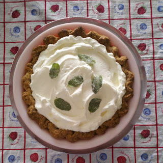 Mint Julep Cream Pie.