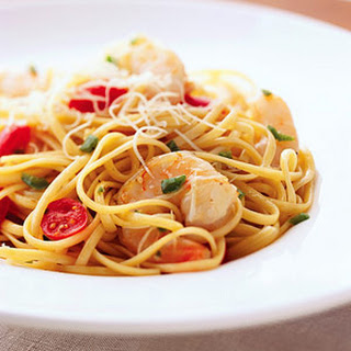 Spicy Jalapeño-Shrimp Pasta