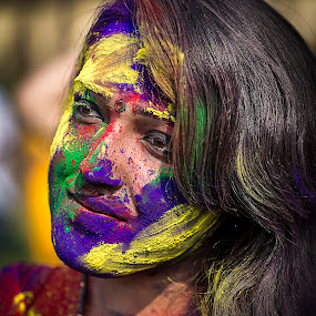 Game of Holi 3 by Rajkumar Bose - News & Events World Events ( color, kolkata, canon 5d mark iii, india, holi )