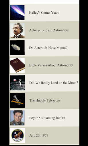 【免費教育App】Science Lists - ASTRONOMY-APP點子