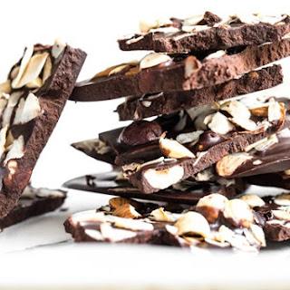 """Crazy Good Coconut Oil """"Chocolate"""" Bark"""