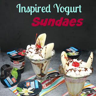 Müller® Ice Cream Inspired Yogurt Sundaes