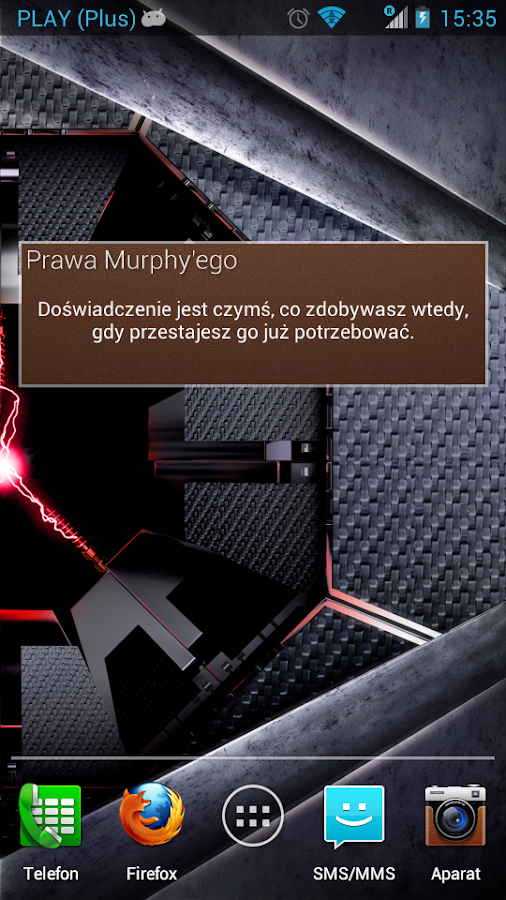 Prawa Murphy'ego- screenshot