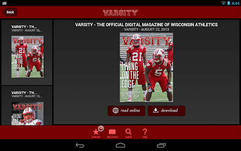 Varsity Magazine - screenshot thumbnail