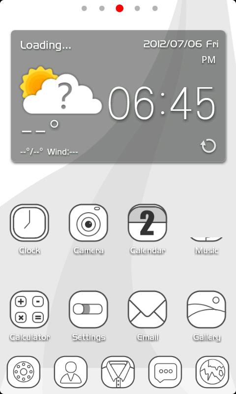 ZLINE GO Holistic Theme - screenshot
