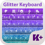 Glitter Keyboard Theme 2.0 Apk