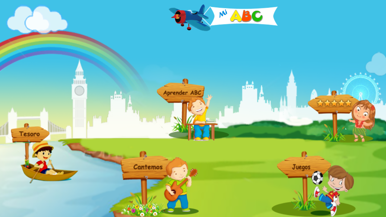 Kids learn spanish abc screenshot