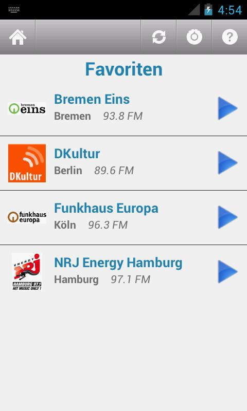 Deutsche Radio- screenshot