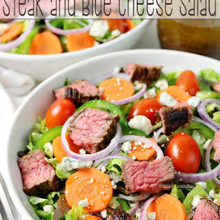 Steak and Blue Cheese Salad.