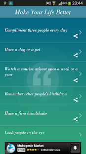 365 Life Quotes - screenshot thumbnail