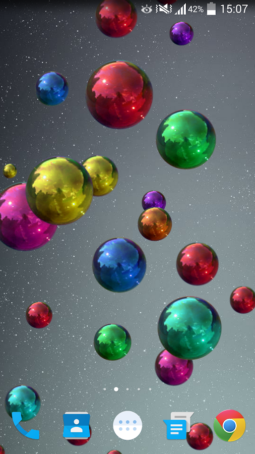 Space Bubbles Live Wallpaper - Android Apps on Google Play