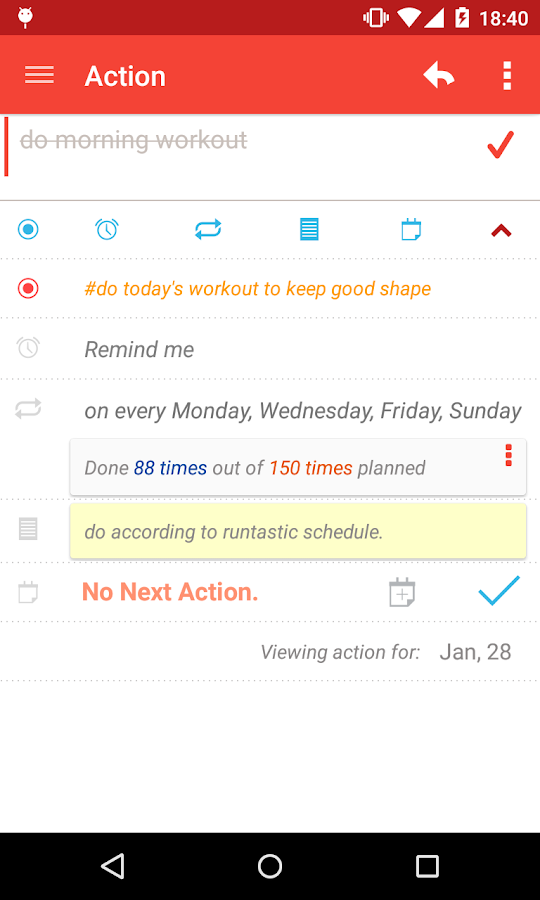 MyEffectiveness: Tasks, To-do - screenshot