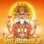 Shri Brahma Ji live wallpaper