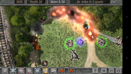 Defense Zone 2 HD Games for Android screenshot