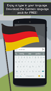 German for ai.type Keyboard- screenshot thumbnail