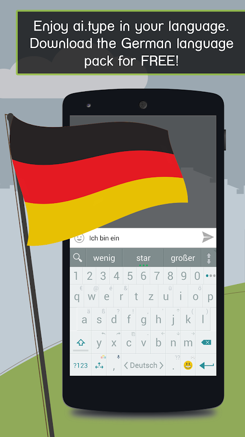 German for ai.type Keyboard- screenshot