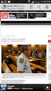 South Africa News - screenshot thumbnail