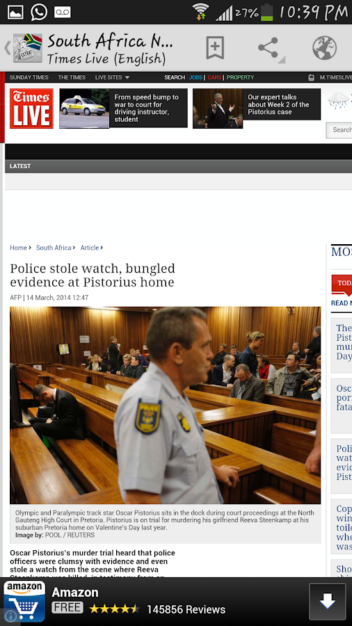 South Africa News - screenshot