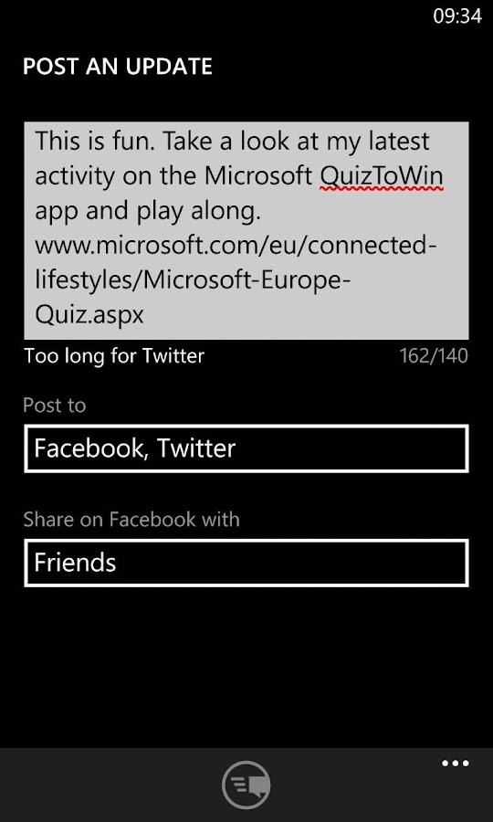 QuizToWin- screenshot
