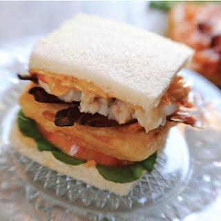 Zakary Pelaccio's Lobster Club Sandwich.