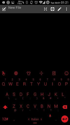 键盘主题 FBlkRed
