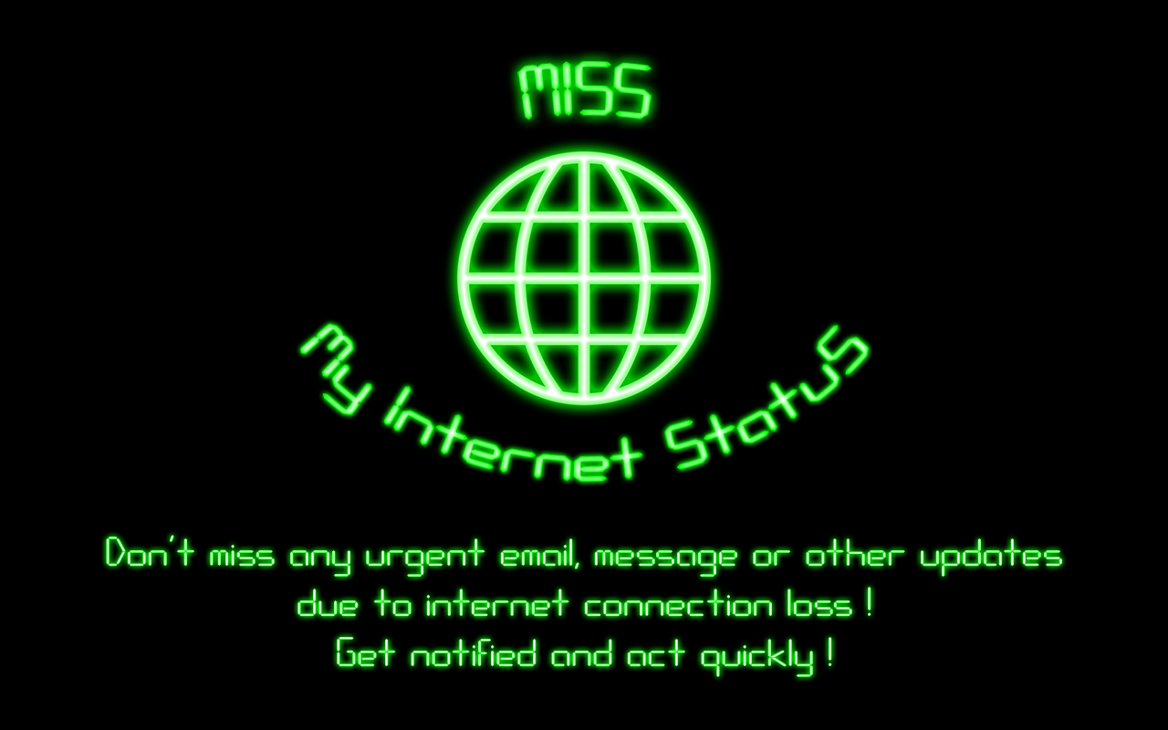 MISS - My Internet Status - screenshot