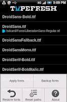 Screenshot of Type Fresh