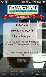 Dana Wharf Fish Count- screenshot thumbnail