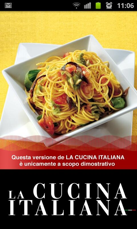 La Cucina Italiana - DEMO - screenshot