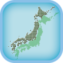 "Quiz ""Pref. capital of Japan"" icon"