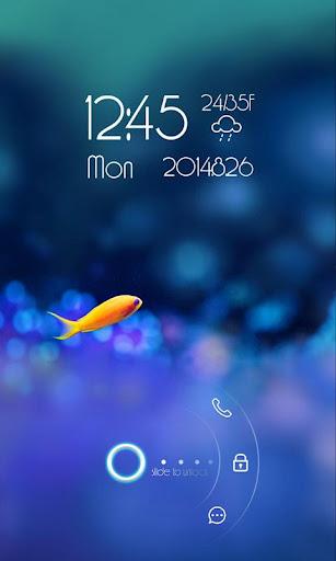 let's fish screen lock