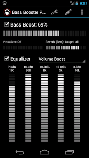 Bass Booster Pro - screenshot thumbnail