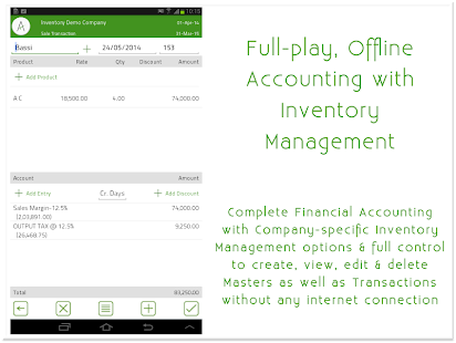 mAccounts Mobile Accounting- screenshot thumbnail