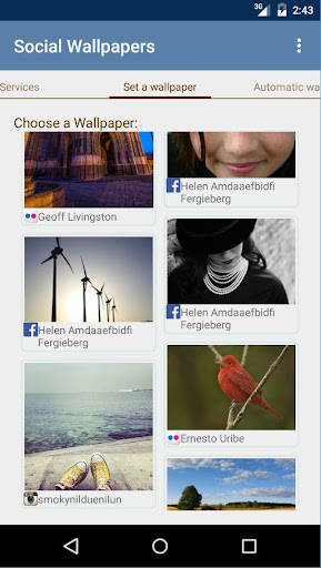Social Wallpapers