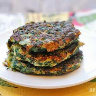Spinach Pancakes.