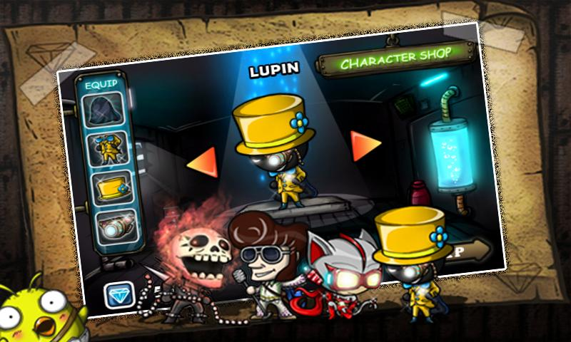 Thief Lupin! - screenshot